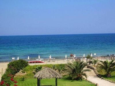Photo for Marzamemi mansion-right in front of the sea-private beach