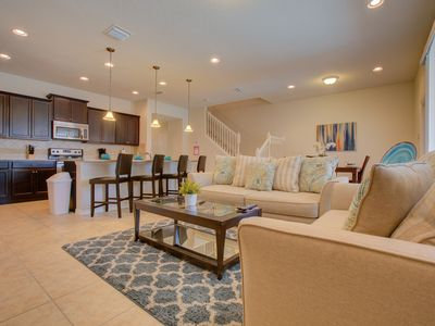 Photo for Upscale townhome with five bedrooms full of luxury.