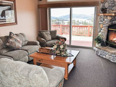 Photo for Starlight Lodge: Gorgeous Views! Gourmet Kitchen! Foosball! Multiple Decks! Master Suite!