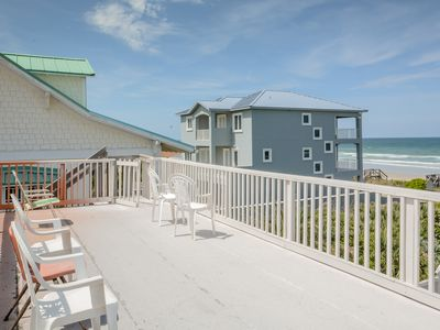 Photo for Beautiful, newly renovated 6 bedroom 5 bath home.Short walk to beach.  6531T