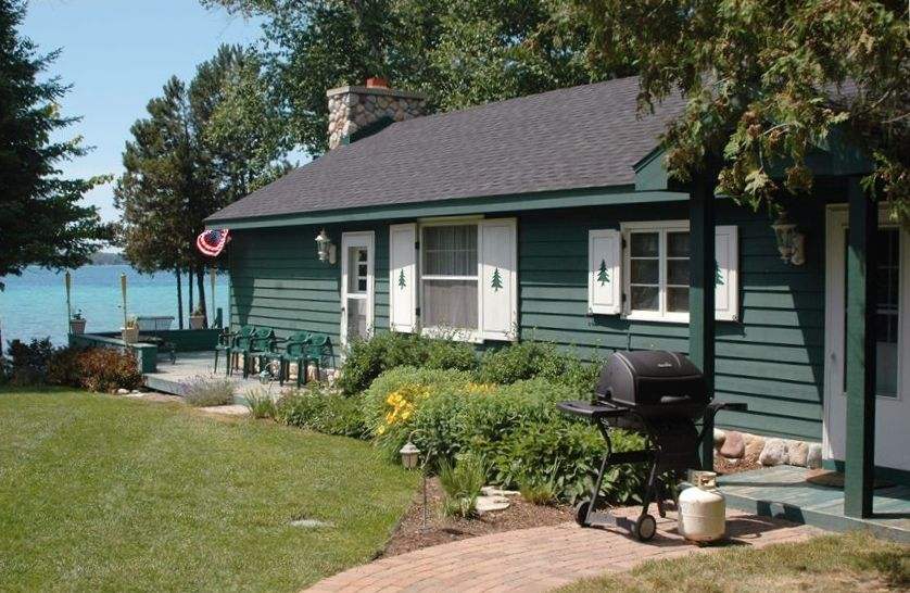 Quaint Cottage On Beautiful Torch Lake Mic Homeaway