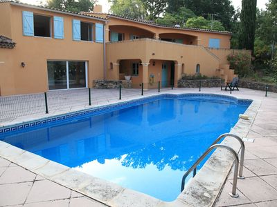Photo for Villa with swimming pool 10 people possibility 2 families