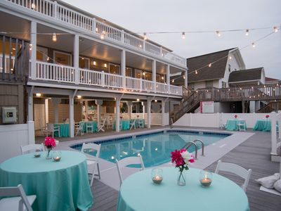 Photo for Oceanfront Pool Wedding Friendly 12 brms