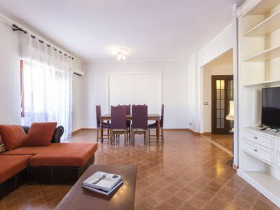 Photo for Attic Ramblas.  A few steps from the beach with veranda and private parking.