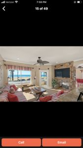 Photo for $179 a night Ocean frnt  Condo 1450 sq. Ft. 3 BDR 2BA  oceanviews from all rms