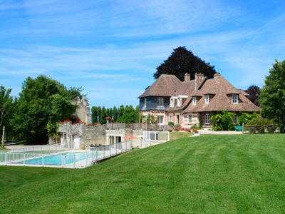 Photo for 8 bedroom Chateau, sleeps 22 with Pool and FREE WiFi