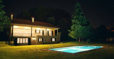 Photo for Rustic villa with pool and playground, by iZiBookings