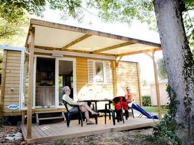 Photo for Camping Le Petit Rocher **** - Mobile home Riviera 3 Rooms 4 People