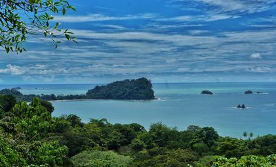 You can see the Manuel Antonio National Park right from this beautiful villa.