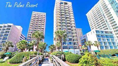 Photo for 3BR Direct Oceanfront Condo at the Palms