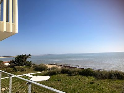 Photo for Superb new apartment facing beach on the island of Noirmoutier