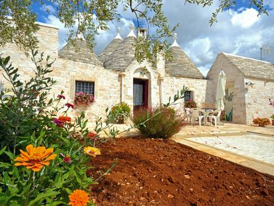 Photo for Holiday in Trulli Trullo delle Rondini