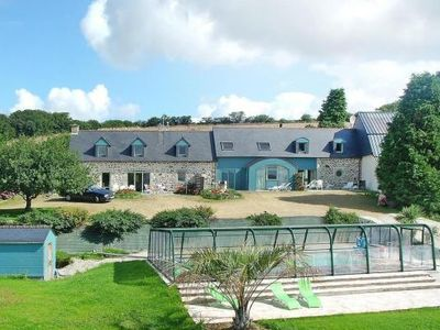 Photo for Semi-detached house, Plomodiern  in Finistère - 9 persons, 4 bedrooms