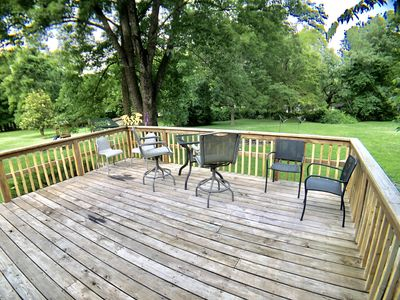 Large Deck with Seating