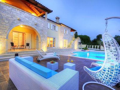 Photo for Stone Villa Hedone, in Istria, with a Pool