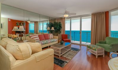 Photo for Luxury oceanfront 14th floor 3BR/3BA condo unit 1405 at Windy Hill Dunes