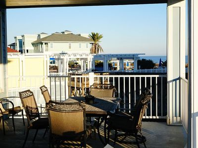YOUR BALCONY- RIGHT NEXT TO THE BEACH CLUB. BE THERE IN SECONDS!!