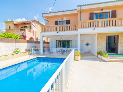 Photo for XALET CAS HEREU (HEREVA) - Villa with private pool in Cala Millor.