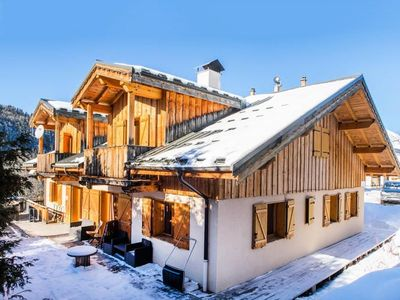 Photo for Catered ski chalet with hot tub and sauna - 1 minute from ski lift