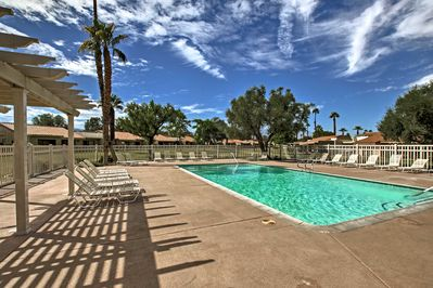 Up to 4 guests will have access to multiple pools, hot tubs, and more.
