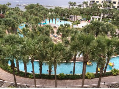 Photo for Beauty on the Bay, 5th floor, Lazy River view;  2Bd/2Ba plus bunkroom, sleeps 8
