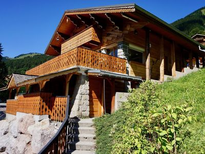 Photo for Chalet for 10 people, 500m from Super Châtel telecabin
