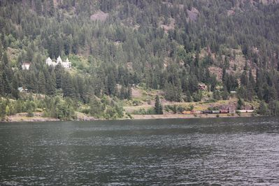 View of the Castle from the lake.