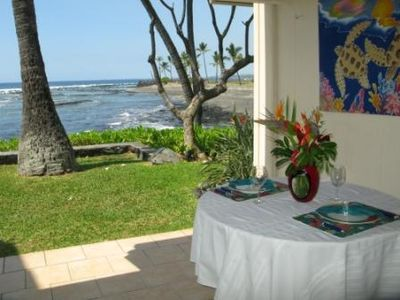 This is the part of your view from lanai....full ocean and beach front view!