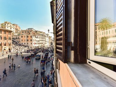 Photo for CS Exclusive Apartment Overlooking the Spanish Steps Square
