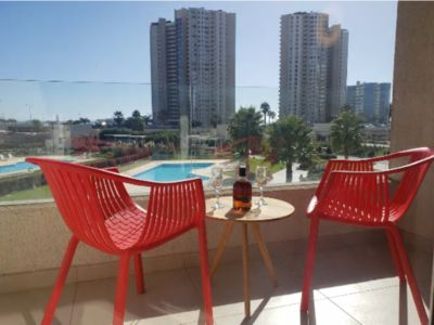 Photo for Quiet Apartment just next to the Beach and Casino, direct view of the ocean