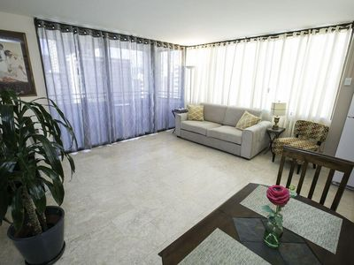Photo for Centrally Located 1br Rental w/FREE WIFI, FREE PARKING, A/C & Wash/dryer