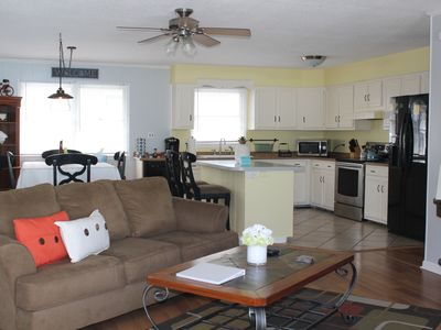 Photo for Pet Friendly 3 Bedroom Upstairs Apartment OBX Beach & Cable & WIFI