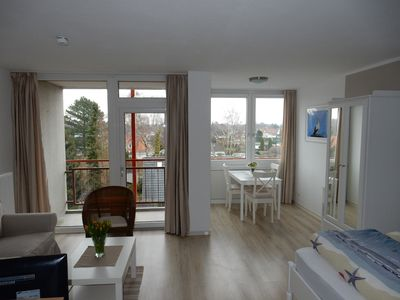 Photo for Comfortable apartment sea view swimming pool + sauna in the house Ferienpark Strandnah