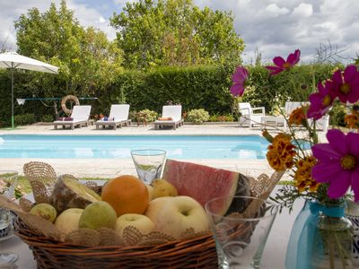 Photo for Casa Lydia (309), pool and beautiful garden