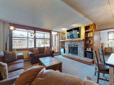 Photo for King suite w/ a private sunroom, full kitchen, shared hot tub - walk to lift