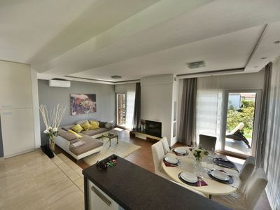 Photo for House 855 m from the center of Bibinje with Parking, Internet, Washing machine, Air conditioning (727306)