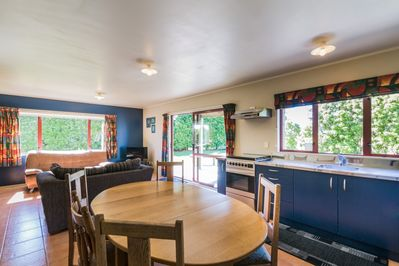 Dining area andamp; kitchen