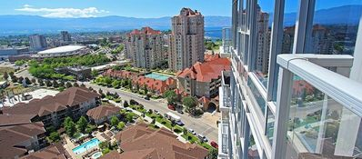 Photo for Luxury Corner Waterscapes Glass Tower Condo with Amazing Views & Pool