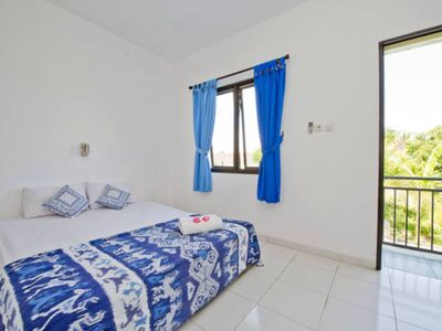 Photo for 1 BR Apartment Equipped with Kitchen, Shared Pool, Convenient Location in Canggu