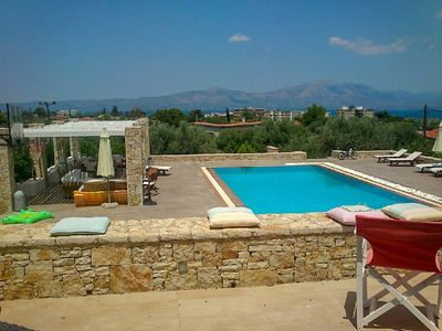 Photo for Beautiful Villa for 10 with private pool on six acres!