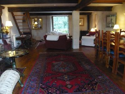 Photo for Character private home in unspoilt Dordogne hamlet for family holiday