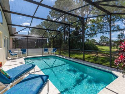 Photo for South Facing Pool Gated Golf Community-South Facing Pool-Golf View