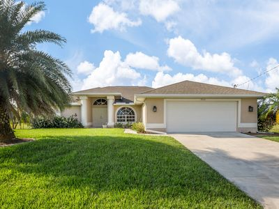 Photo for Comfortable home w/ private pool & screened lanai, close to golfing & boating!