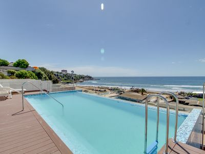 Photo for Depto frente al mar en Concon - Oceanfront Apt. in Concon