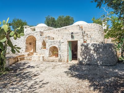Photo for typical old building surrounded by an olive grove, 6 km from Ostuni