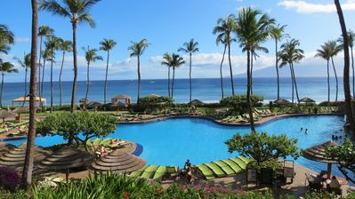 Photo for Hyatt Residence Club Ka'anapali: 6/27/20 - 7/4/20  2 BR Oceanfront Villa