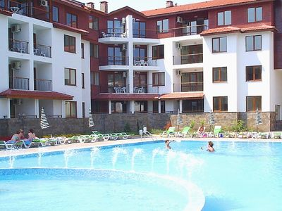 Photo for One Bedroom Fully Furnished Flat in the Apollon Complex in Sunny Beach/Nesebar