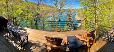 Photo for Fall Drive - Low Rates! Water Front on Beaver Lake, Private Dock, Large Decks with Lake View