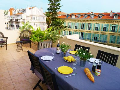Photo for PALAIS L'ESCURIAL AP4069 by RIVIERA HOLIDAY HOMES - Apartment for 4 people in Nice