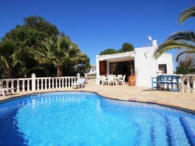 Photo for Los Ninos (6): Private Pool, WiFi, 0.2km to the beach, an official dog beach